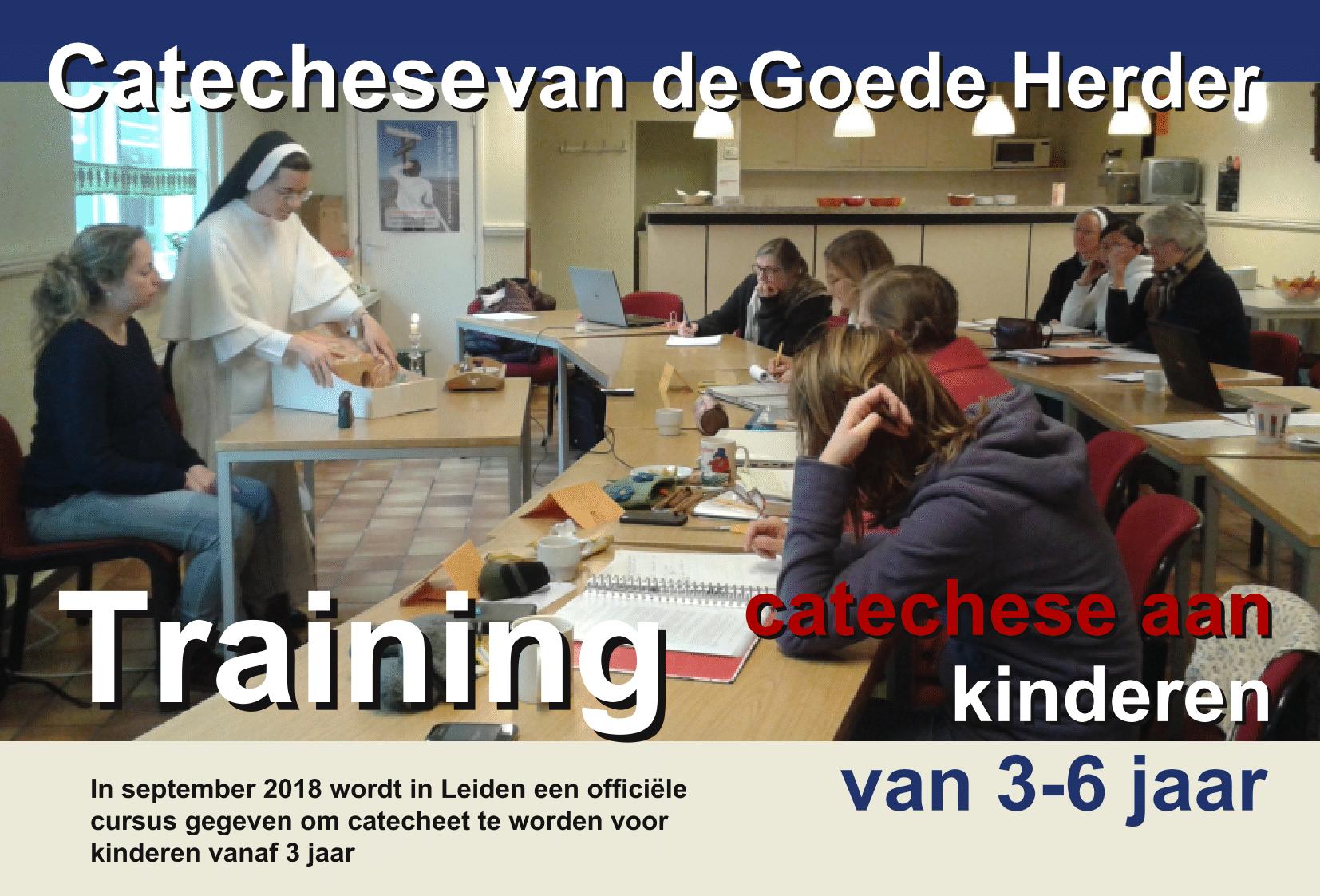 Flyer training catechese level I sep 2018 uitgelicht